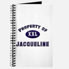 Property of jacqueline Journal