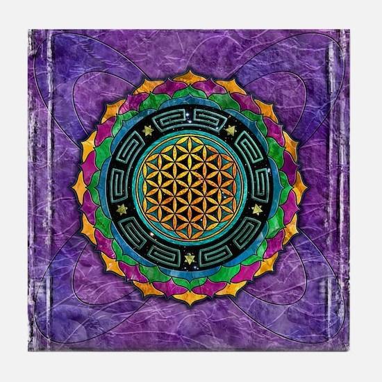 Awakening Consciousness Tile Coaster