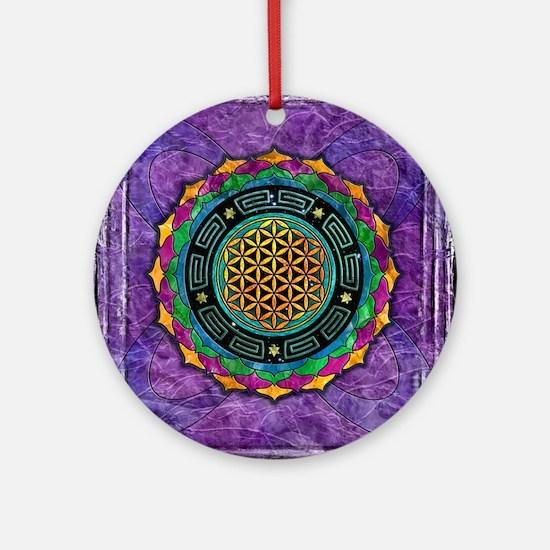 Awakening Consciousness Round Ornament