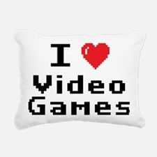 videogames Rectangular Canvas Pillow