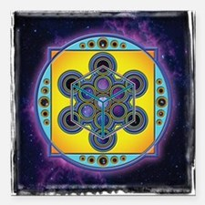 "Telepathy_www Square Car Magnet 3"" x 3"""