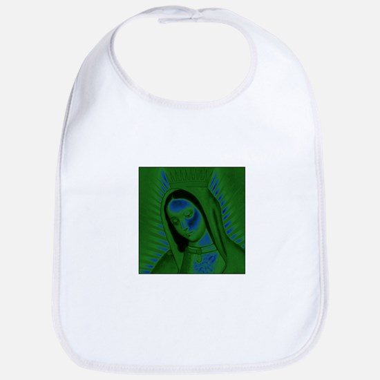 Virgen de Guadalupe - Green Bib