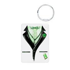 st pats tux 4 Keychains