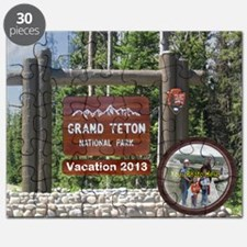 DIY Photo Souvenir From Grand Tetons Puzzle