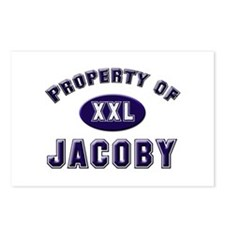 Property of jacoby Postcards (Package of 8)