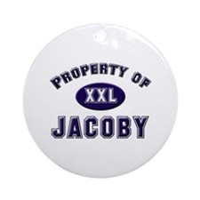 Property of jacoby Ornament (Round)