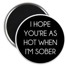 soberhot1 Magnet