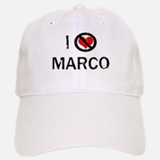 I Hate MARCO Baseball Baseball Cap