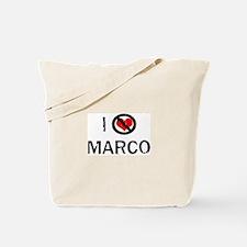 I Hate MARCO Tote Bag
