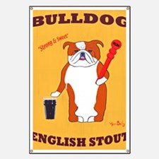 English Bulldog Banner