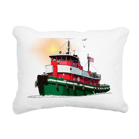 TugOhio-10 Rectangular Canvas Pillow