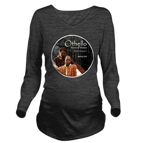 othello-round-2 Long Sleeve Maternity T-Shirt