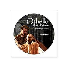 "othello-round-2 Square Sticker 3"" x 3"""