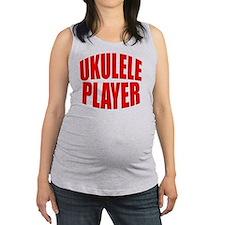 uke, ukulele, ukes, ukuleles, u Maternity Tank Top