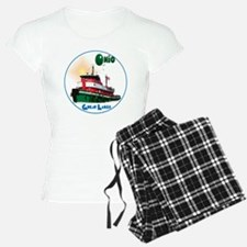 TugOhio-C10trans Pajamas