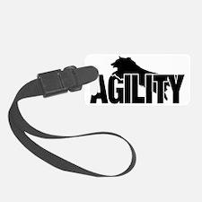 Sheltie Agility Sticker Luggage Tag