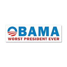 Worst President Ever Car Magnet 10 x 3