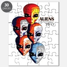 The Aliens_final_white_wBen Puzzle