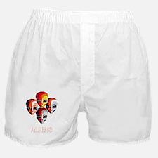 The Aliens_final_dark Boxer Shorts