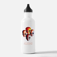 The Aliens_final_dark Water Bottle