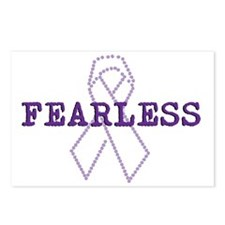 Fearless_Purple Postcards (Package of 8)