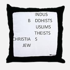 actlikehumanstinv Throw Pillow