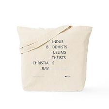actlikehumanstinv Tote Bag