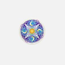 Celestial Mandala Mini Button