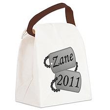 Zane Custom Order Canvas Lunch Bag