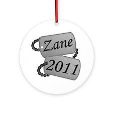 Zane Custom Order Round Ornament