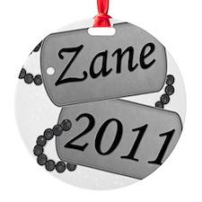 Zane Custom Order Ornament