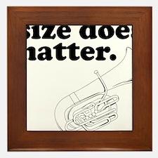 Size does matter 1 Framed Tile