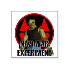 """experiment3 Square Sticker 3"""" x 3"""""""