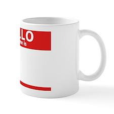 hello my name is_red Mug