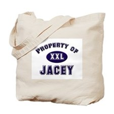 Property of jacey Tote Bag