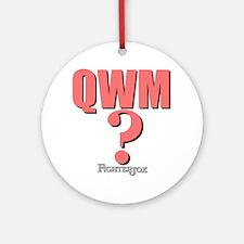qwm-1 Round Ornament