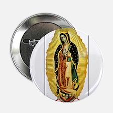 Virgen de Guadalupe Button