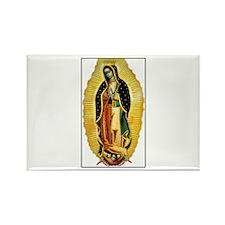 Virgen de Guadalupe Rectangle Magnet