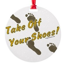 takeoffshoes2 Ornament