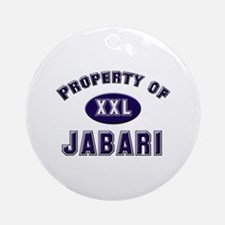 Property of jabari Ornament (Round)