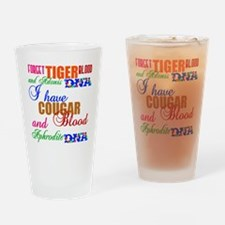 BloodDNAblack3 Drinking Glass