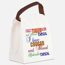 BloodDNAblack3 Canvas Lunch Bag
