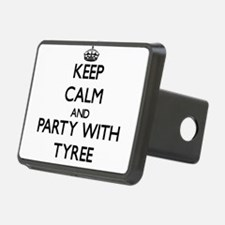 Keep Calm and Party with Tyree Hitch Cover