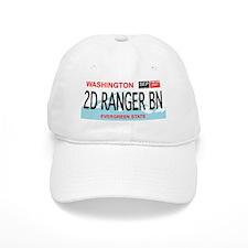 2d Ranger Bn Washington Plate Baseball Baseball Cap