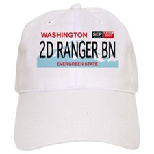 2d Ranger Bn Washington Plate Baseball Cap