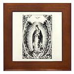 Nuestra Senora de Guadalupe Framed Tile