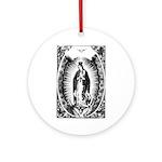 Nuestra Senora de Guadalupe Ornament (Round)