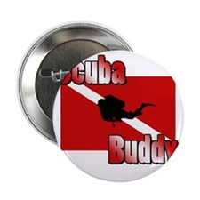 "Scuba Buddy 2.25"" Button"