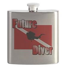 Future Diver Flask