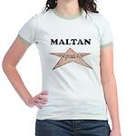 Maltan and proud of it Jr. Ringer T-Shirt